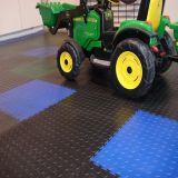 Pavimentazione del garage, stuoia di gomma di plastica del pavimento dell'automobile delle mattonelle di pavimentazione della moneta