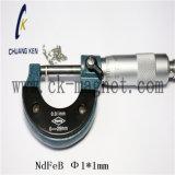 Ck-238 Grado imanes de NdFeB Φ 1*1mm