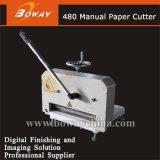 precio de papel manual de la máquina del cortador del corte de la talla A4 de 480m m