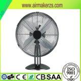 Retro ventilatore dello scrittorio del metallo da 12 pollici con GS/Ce/SAA