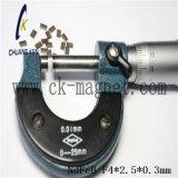 CK-233 de Rang F4*2.5*0.3mm van de Magneet NdFeB