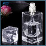20ml/50ml esvaziam a viagem desobstruída de vidro do atomizador do retângulo do frasco de perfume