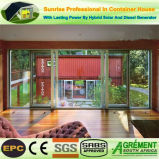 De mobiele Beweegbare Groene Winkel van de Koffiebar van het Bureau van de Container van het Glas van het Huis