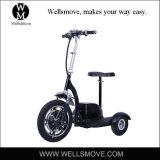大人500WハブモーターFoldable 3つの車輪の電気移動性のスクーター