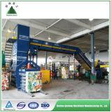 Máquina hidráulica automática da prensa de empacotamento do papel de sucata para a planta de recicl