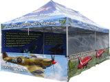 Gazebo di alluminio del giardino di stampa di Tingere-Sublimazione 600d, tenda della tenda foranea di evento