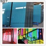 Vidro decorativo lacadas sobrecoloridos