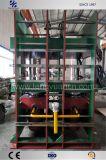 500 toneladas de la placa de tipo de trama vulcanización Pulse con el sistema de control PLC