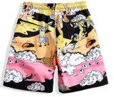 Commerce de gros des vêtements de sports d'hommes Shorts Sublimation élégant imprimé Blank Board Shorts personnalisés