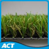 Трава волокна C-Формы искусственная для цены домашнего сада дешевого