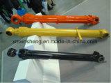 Jcbの掘削機のオイル管の構築の機械装置部品が付いている油圧バケツシリンダーブームシリンダーアームシリンダー