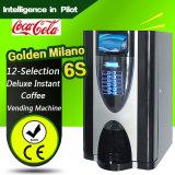 Máquina de café de alta qualidade 12-Selecção máquina de venda automática de café instantâneo Deluxe