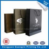 Vendre Hot Paper Bag Panier avec Golden Logo