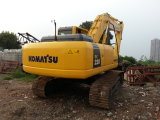 máquina escavadora usada escavador de escavação barata da esteira rolante de 22ton/2007y KOMATSU PC220-7