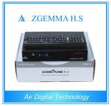 Satelleite TVの受信機のZgemma H.S HD DVB S/S2サポートIPTV Enigma2 Linux OSサポートSDカードの二重コアCPU