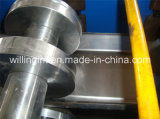 Roulis en acier léger de mur sec de panneau de forme de brucelles formant la machine