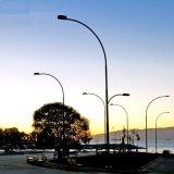 Im Freienmöbel-Lichtbogen-geformtes Straßenlaterne-Aluminium Pole
