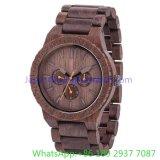 2016 Relógios de quartzo multifuncionais de madeira Top-Quality Assista (Hl-Ja 15023)