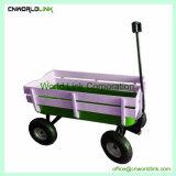 Mover el carro de madera para niños Carro de la playa de vagones de madera