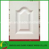 白いカラーPVCフィルムの食器棚のドア