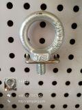 Boulon d'oeil d'acier du carbone M12 et matériel galvanisés de noix