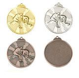 Medalla plateada color de encargo de la antigüedad del acontecimiento deportivo