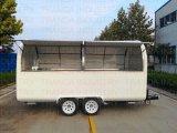 Alimento rosso Van del camion degli alimenti a rapida preparazione di alta qualità