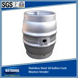 Roestvrij staal 4.5 Gallon Cask Hot Saled in het UK