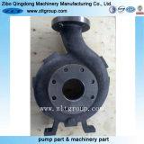 Le moulage au sable de la Fonte/carter de pompe en acier inoxydable avec usinage CNC