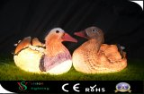 Skulptur-Beleuchtung der Ente-3D