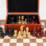 Qualità di lusso della parte di scacchi scheda di scacchi di legno di 15.75 pollici