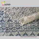 010 моды Beautful Embroidry Порезана ткань кружевом по ткани