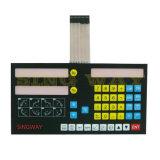 Interruttore di membrana materiale su ordine della tastiera della tastiera di Pet/PC con il circuito flessibile