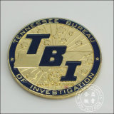 Distintivo placcato oro, mestieri organizzativi (GZHY-BADGE-076)