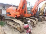 Excavatrice utilisée Dh220-7 de Daewoo/chenille de Doosan Dh220-7 à vendre