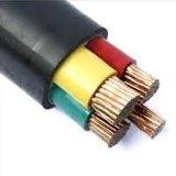 Cabo distribuidor de corrente protegido do PVC do fio de aço da isolação do condutor XLPE bainha blindada de alumínio