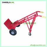Carrinho de mão dobrável Carrinho de transporte de aço de armazém