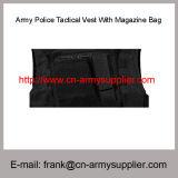 Venda por grosso de polícia do Exército da China barato colete tático com saco de Revistas