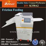 8000 Sheest/perforateur de papier alimentant de Creaser main d'heure petite machine de perforation se plissante