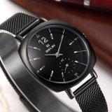 Belbi quadratische runde Entwurfs-Dame-Weihnachtsgeschenk-Quarz-Armbanduhr
