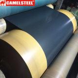 Lamiera di acciaio Chequered del Matt PPGI/PPGL della grinza nel prezzo della bobina per tonnellata