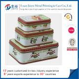 Caja al por mayor de la lata del jabón del metal para el paquete