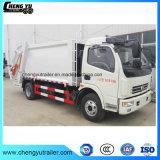 Dongfeng 4X2 7m3 8cbm 10cbm 쓰레기 압축 분쇄기 쓰레기 트럭