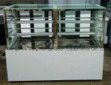 Cer-Bescheinigung-vertikaler Kuchen-Bildschirmanzeige-Schaukasten-Kühlraum