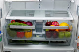 Refrigerador No Frost de puerta francesa con Ice Maker Dual Cycle