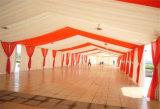 Tente extérieure de luxe de noce de tente d'événement de dessus de toit de tissu