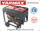 Generatore doppio Ym6500eaw della saldatura di funzione raffreddato aria di Yarmax