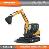 Graafwerktuig van het Kruippakje van de Fabrikant van Shantui het Officiële 5t (se50-9)