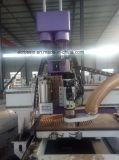 CNC van de hoge Precisie de Machine van de Router met As Hsd en de BoorEenheid van CC voor de Boring van de Houtbewerking, Gravure, Knipsel, Malen