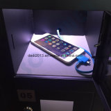 """"""" stand de l'étage 42 annonçant l'étalage de TÉLÉVISEUR LCD de DEL avec la fonction de remplissage"""